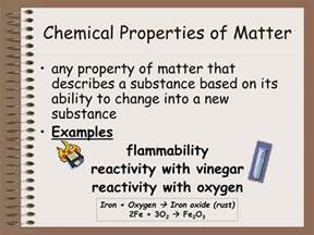 is color a chemical property ppt matter powerpoint presentation id 203249