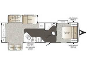 Outback Campers Floor Plans by 2016 Outback 298re Floor Plan Travel Trailer Keystone Rv