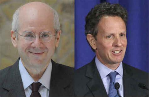 Goldman Sachs Mba Sponsorship by Schoenholtz Geithner
