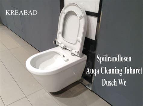 wc bidet dusche sp 252 lrandlosen taharet aqua cleaning bidet dusch wc mit
