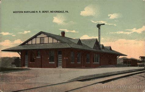 Western Maryland Judiciary Search Western Maryland R R Depot Meyersdale Pa