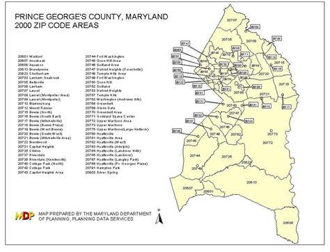 code md pg county zip code map my blog