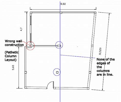layout column consequences of wrong structural design rcc structures