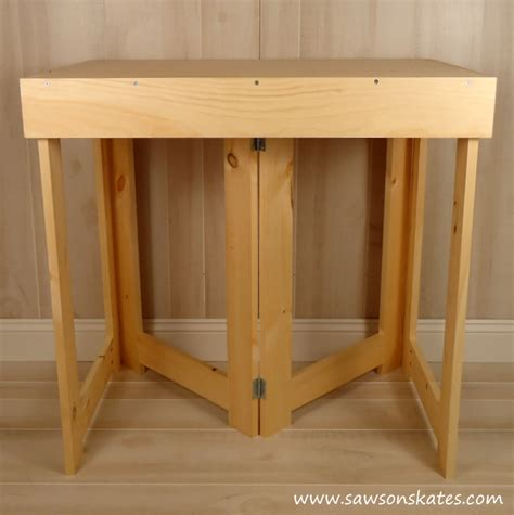 collapsible work bench diy folding workbench
