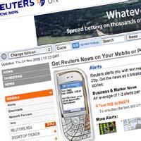 reuters news mobile reuters introduces mobile headlines media news