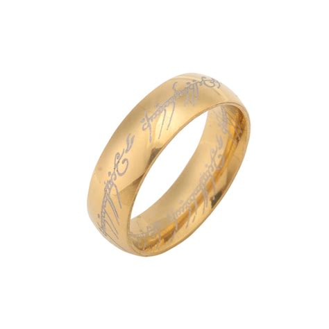 new fashion 18k gold plated the hobbit and lord of the
