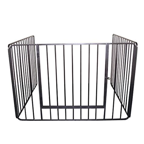 clevr 43 baby safety fence hearth gate bbq gate