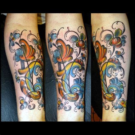 rosemaling tattoo 76 best tattoos images on drawings