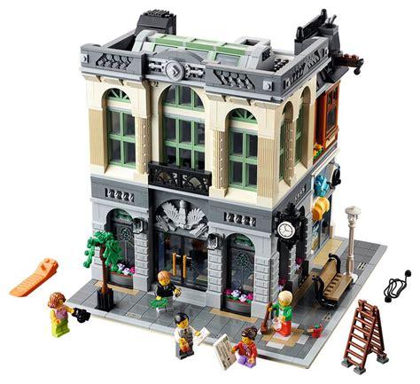 Lego Brick Bank 10251 Modular Building 2016 Set Revealed