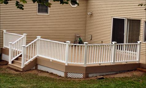 veranda railing azek veranda rail custom deck chatham morris county nj new