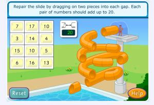top marks new year maths interactive maths number bonds to 10 interactive