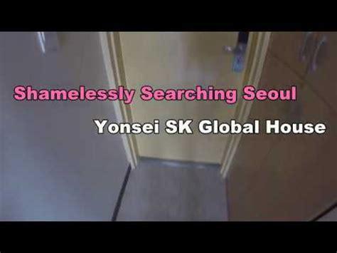 sk global house sss yonsei sk global house dorm room youtube
