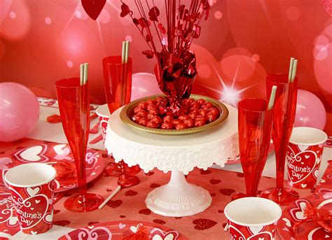 valentines table decorations cute valentine s day party ideas party delights blog