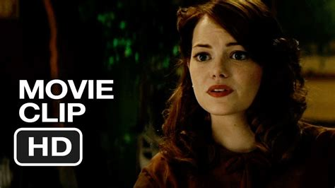 emma stone film clip gangster squad movie clip you wanted to talk to me