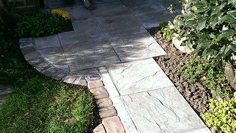 riven slab patio fontmall magna dorset msc landscapes