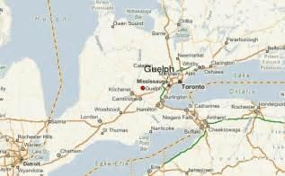 maps guelph ontario canada guelph location guide