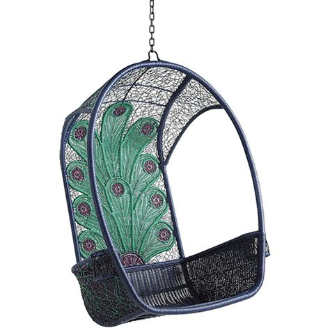 swingasan hanging chair cute and colorful garden furniture by pier 1