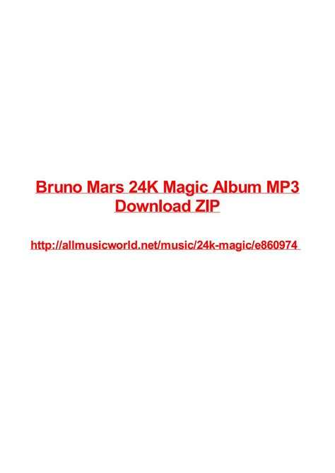 download mp3 bruno mars 24k bruno mars 24k magic album mp3 download zip by vjollca