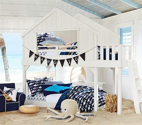 tree house white bunk