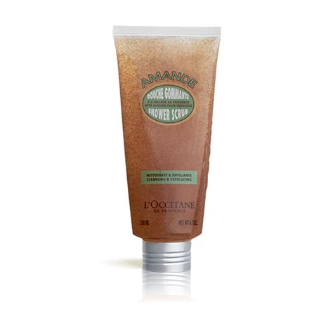 Pelembab L Occitane almond shower scrub