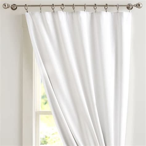 pbteen curtains classic sailcloth blackout drape pbteen