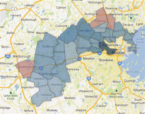 imágenes maps más massachusetts s 5th congressional district special