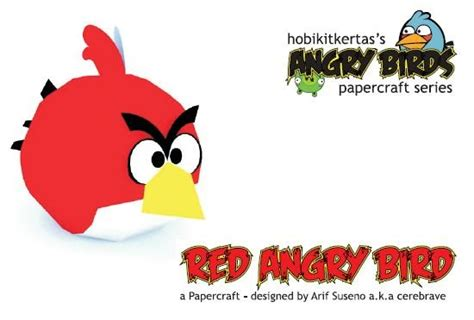 Angry Birds Paper Crafts Gadgetsin by Angry Birds Papercraft Papercraft Paradise