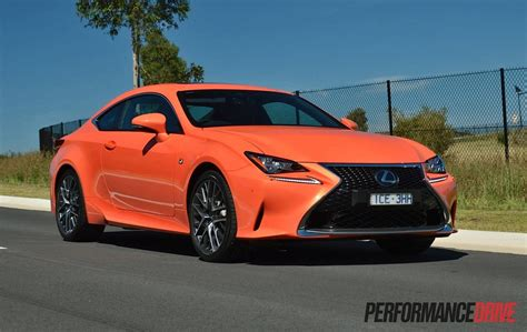 lexus rc 350 2015 lexus rc 350 f sport review video performancedrive