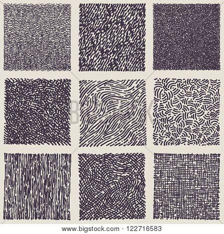 svg marker pattern set hand drawn marker ink patterns vector photo bigstock