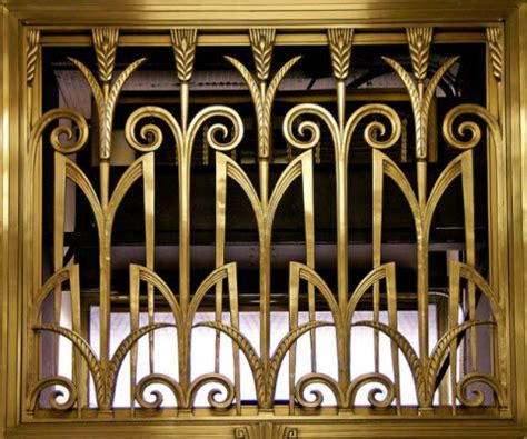 art deco interior design art deco interior stair railing iron pinterest art