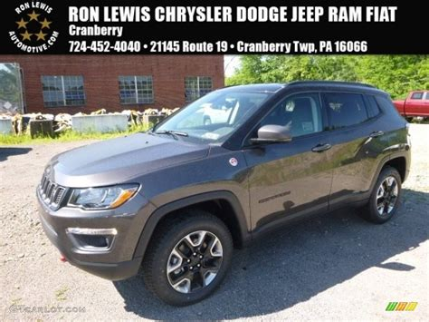 jeep compass trailhawk 2017 colors 2017 granite crystal metallic jeep compass trailhawk 4x4