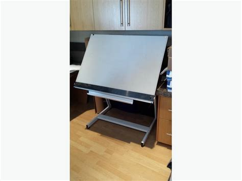 Drafting Table Vinyl Drafting Table With Parallel Straightedge City