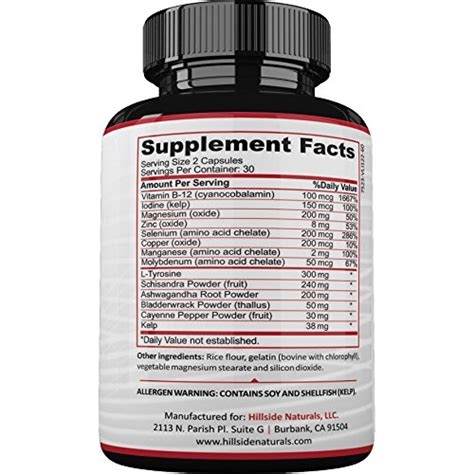 supplement for buy 1 thyroid support supplement for hypothyroidism