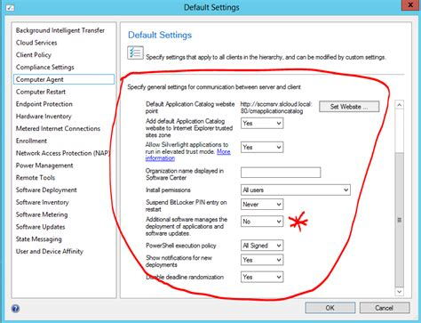 reset software center sccm sccm 2012 sp1 application catalog cannot install or