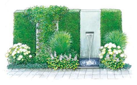 Schmale Beete Vor Hecke Und Mauer Bepflanzen drei pflanzideen f 252 r beete mit ecken und kanten mein