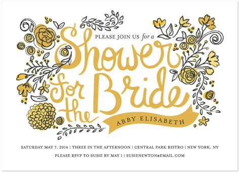 wedding font mrs eaves small caps garden bridal shower invitation featuring mrs eaves font