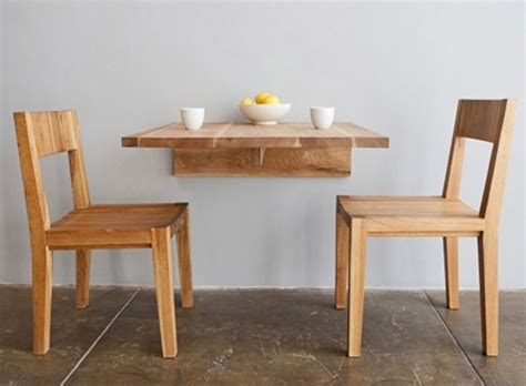 Wall Table For Kitchen Dining Tables Better Living Through Design