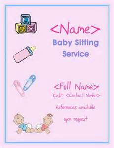 babysitting flyer template 21 must free babysitting activities printable flyer