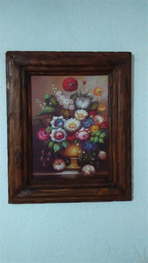 donde comprar marcos para cuadros cuadros marcos rusticos artesanales en madera 2 500
