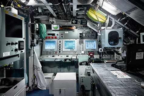Nuclear Submarine Interior by Britains Astute Class Nuclear Submarines Take To The Sea