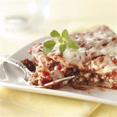 weekday lasagna recipe taste of home