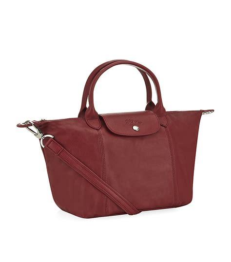 Longch Cuir Small 11 longch le pliage cuir small handbag in lyst