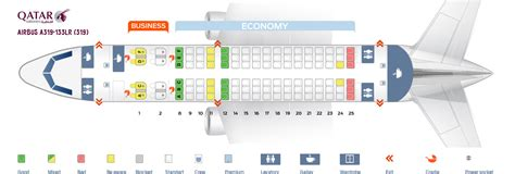 airbus a320 seating seat map airbus a319 100 qatar airways best seats in the