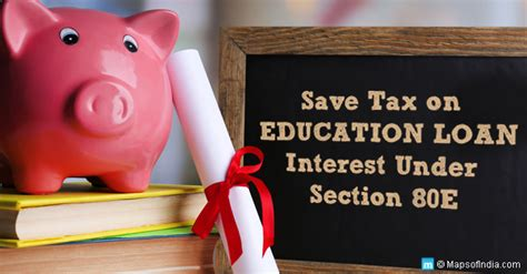 home loan comes under which section save tax through education loan under section 80e my india