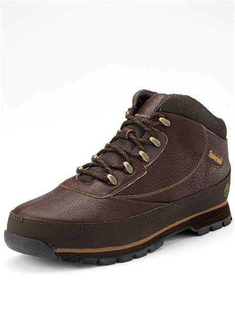 mens hiker boots timberland brook hiker mens boots in brown for lyst