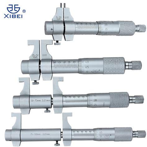 Best Seller Alat Micrometer Wynns aliexpress buy 4pcs inside micrometer set 5 30mm 25 50mm 50 75mm 75 100mm 0 01mm metric