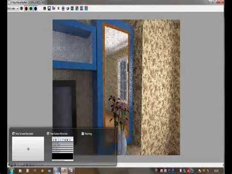 tutorial vray sketchup cermin cara membuat efek cermin pada vray sketchup by tegalwebs