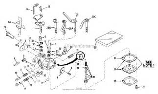 tecumseh ca 630894 parts diagram for carburetor