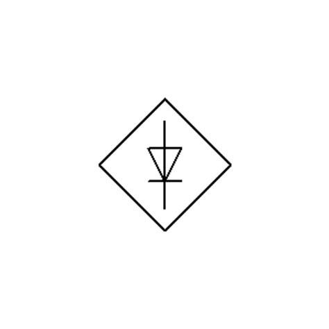diode bridge rectifier symbol production of electrical energy symbols