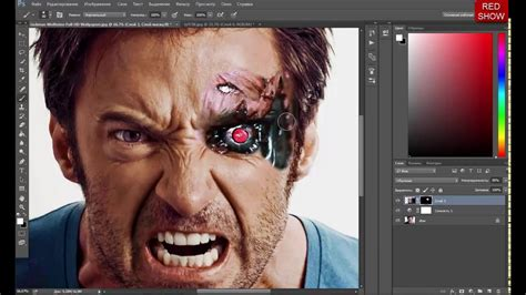 tutorial photoshop terminator photoshop cc tutorial terminator effect youtube